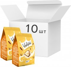 Упаковка конфет АВК Королевский шарм со сливочной начинкой 113 г х 10 шт (4823105801602)