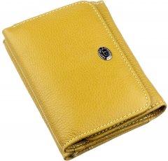 Женский кошелек кожаный ST Leather Accessories 18891 Горчичный