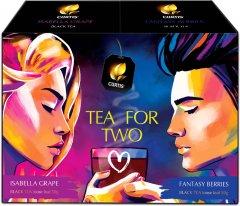 """Чайный набор Curtis """"Tea for Two"""" Листовой 100 г (4823063709699)"""