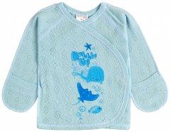 Распашонка Garden Baby Рыбки 18142-88 62 см Голубая зигзаг (4821814188229)