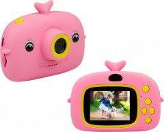 Цифровой детский фотоаппарат Atrix Tiktoker 11 Dual CAM 20MP 1080p Pink (cdfatxtt11p)