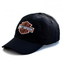 Бейсболка Rockway с вышивкой Harley-Davidson черная (3114-N0044)