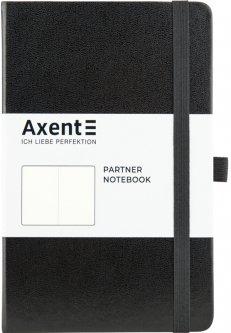 Записная книга Axent Partner 125х195 мм без линовки 96 листов Черная (8307-01-A)