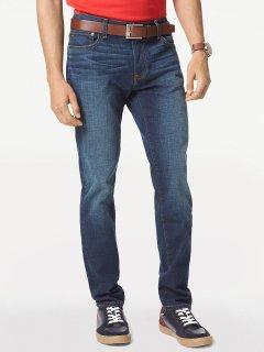 Джинси Stretch Slim Tommy Hilfiger TH1318M 36/30 Темно-синій