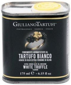 Оливковое масло Giuliano Tartufi с добавлением аромата белого трюфеля 175 мл (8025386001252)