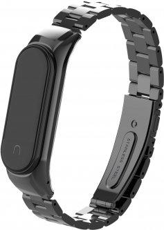 Ремешок Armorstandart Metal Band 4303 для Xiaomi Mi Band 4/3 Black (ARM55549)