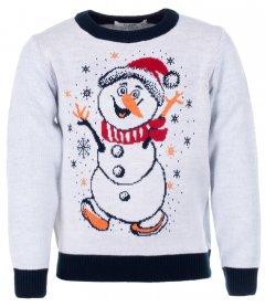 Джемпер Flash Різдво 19BG134-6-3900 146 см NY Білий (2200000248459)