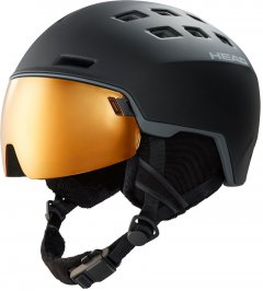 Шлем горнолыжный HEAD RADAR POLA M/L Black (726424859306)