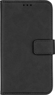 """Чехол-книжка 2Е Silk Touch для смартфона 6-6.5"""" универсальный Smoky Black (2E-UNI-6-6.5-HDST-SBK)"""