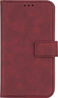 """Чехол-книжка 2Е Silk Touch для смартфона 5.5-6"""" универсальный Сarmine Red (2E-UNI-5.5-6-HDST-CRD)"""