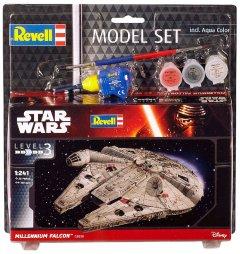 Сборная модель Revell Космический корабль Тысячелетний Сокол. Масштаб 1:241 (RVL-63600) (4009803636009)