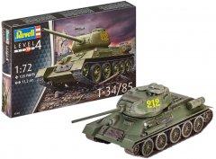 Сборная модель Revell Танк Т-34/85. Масштаб 1:72 (RVL-03302) (4009803033020)