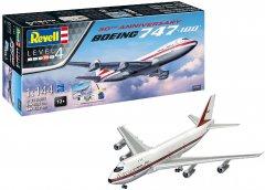 Сборная модель Revell Самолет Боинг-747-100 50 лет. Масштаб 1:144 (RVL-05686) (4009803056869)