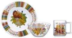 Набор детской посуды ОСЗ Disney Король Лев 3 предмета (18с2055 ДЗ Король Лев)