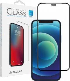 Защитное стекло ACCLAB Full Glue для Apple iPhone 12 mini Black (1283126508226)