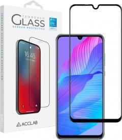 Защитное стекло ACCLAB Full Glue для Huawei Y8p/P Smart S Black (1283126508318)