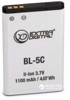 Аккумулятор ExtraDigital для Nokia BL-5C 1100 mAh (BMN6274)