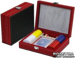Набор для покера Duke в красном кейсе (CCT00813)