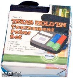 Набор для игры в покер Duke в тканевом кейсе (200 фишек, две колоды карт) (CC02100)