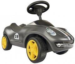 Автомобиль-каталка Big Стильное Porsche Черный с защитными насадками для обуви (56346)