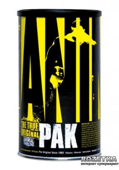 Витамины Universal Nutrition Animal Pak 44 пакетика (039442030115)