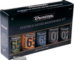 Набор средств Dunlop 6500 System 65 Guitar Maintenance Kit