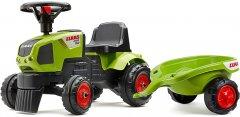Детский трактор-каталка Falk Claas Axos с прицепом Зеленый (1012B) (3016200101222)