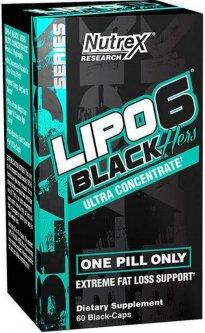 Жиросжигатель NR Lipo-6 Black Hers 60 капсул (853237000721)