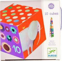 Пирамидка Забавные кубики Мои друзья Djeco (DJ08505)