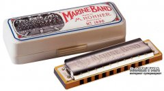 Губная гармошка Hohner Marine Band 1896 Classic G