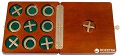 Игра крестики нолики в деревянной коробке Duke (2072DK)