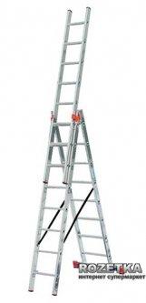 3-х секционная лестница Krause Tribilo 8 ступеней (129666)