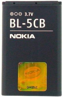 Аккумулятор Nokia BL-5CB 800 mAh (147486)