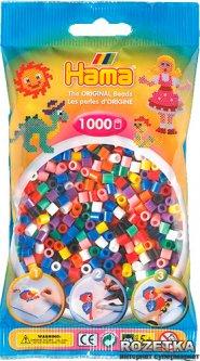Набор Hama Midi Цветные бусины 10 цветов 1000 шт (207-00)
