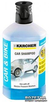 Автошампунь Karcher Plug & Clean 3 в 1 1 л (6.295-750.0)
