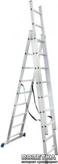 Универсальная лестница Werk LZ3209B 3х9 (35275)