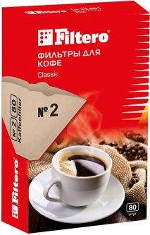 Фильтры для кофеварок FILTERO Classic №2