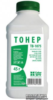 Тонер ColorWay Brother HL-1112/2132, DCP-1521/7057 (45 г) (TB-1075)
