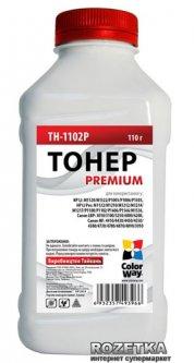Тонер ColorWay Canon 725/Canon728 HP LJ P1102/P1606/ (110 г) Premium (TH-1102P)