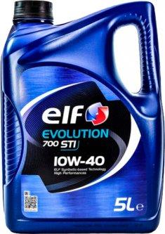 Моторное масло Elf Evolution 700 STI 10W-40 5 л (201554)