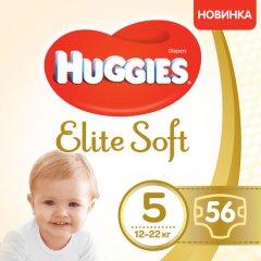 Подгузники Huggies Elite Soft 5 Mega 56 шт. (5029053547046) (5029053545318)
