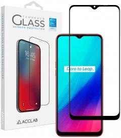 Защитное стекло ACCLAB Full Glue для Realme С11 Black (1283126508455)