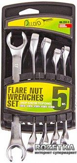 Набор разрезных ключей Alloid 8х10 - 15х17 мм 5 предметов (НК-203-5)