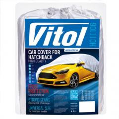Тент автомобильный Vitol HC11106 XXL Серый