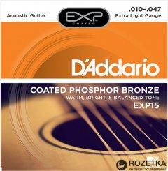 DAddario EXP15 Phosphor Bronze Extra Light (10-47)
