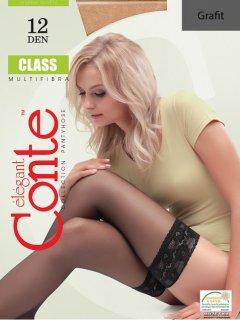 Чулки Conte Class 12 Den 1-2 р Grafit -4811473037716