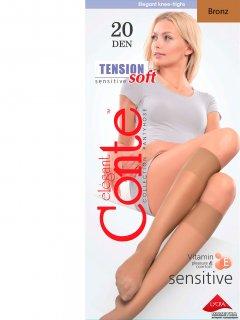 Гольфы Conte Tension Soft 20 Den Bronz (4810226052297)