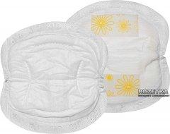 Одноразовые вкладыши для бюстгальтера Medela Disposable Nursing Pads 60 шт (008.0374) (008.0323)