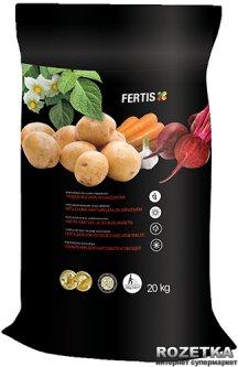 Удобрение для картофеля и овощей Fertis без хлора и нитратов 20 кг (10506876) 4770767316046/4779039690358