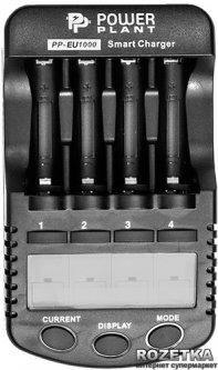 Зарядное устройство для аккумуляторов AA/AAA PowerPlant PP-EU1000 (DV00DV2362)